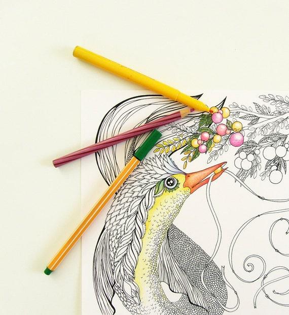 Descargar digital - Página para colorear - página de adultos para ...
