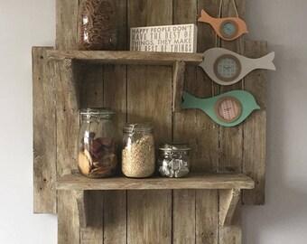 Handmade Wooden Shelves | Pallet Shelves | Floating Shelves | Wooden Shelves | Shabby Chic | Rustic Shelves.