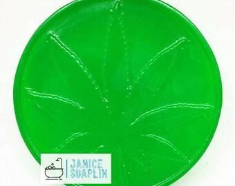Green Apple scented Hemp Soap