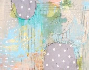 Trending Now, Vertical Abstract Painting, Original Pastel Abstract Art, Modern Art,  Home Decor Wall Art