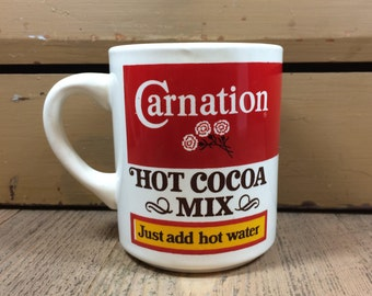 Carnation Hot Cocoa Mug Just Add Hot Water