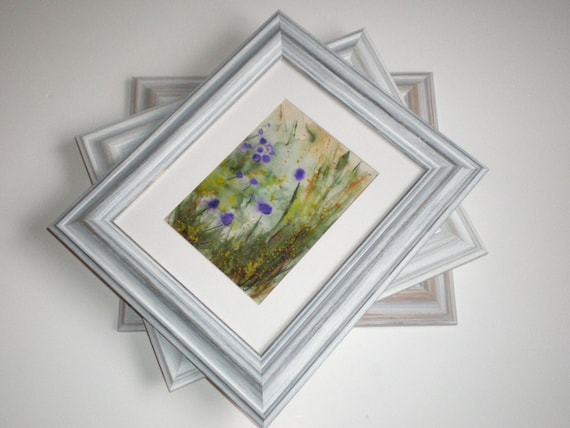 Picture frame A4 photo frame distressed frame white wood frame ...