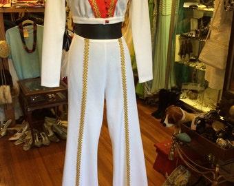 60s-70s disco pants suit