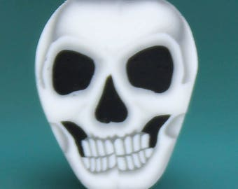 Small Polymer Clay Skull Cane (BB)