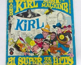 The KIRL Music Machine 21 Super Hits Volume One Vinyl LP Record Album T--2041 SL
