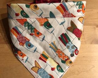 Bandana for cat and dog - Japanese kite
