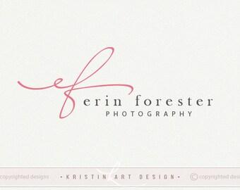 Initials logo design, Photography logo, Business logo, Elegant logo, Premade logo design, Watermark logo, Logo design, Brand design, 520