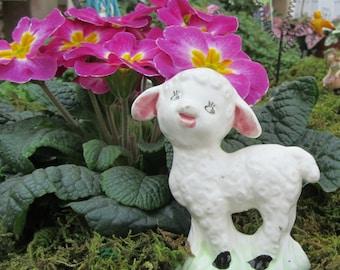 Lamb Figurine Vintage Easter