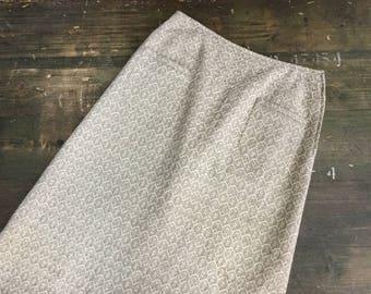 A-Line Textured Skirt