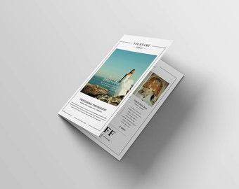 Hochzeit Fotografie Katalog/Broschüre Vorlage für