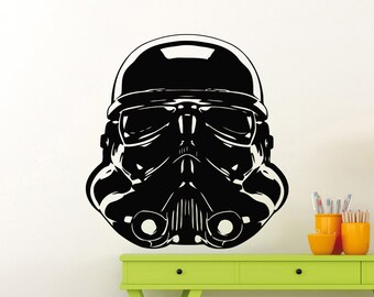 Stormtrooper Wall Decal Star Wars Logo Superhero Vinyl Sticker Home Room Interior Decoration Waterproof High Quality Mural (292su)