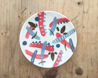 Small Hand-painted Dish