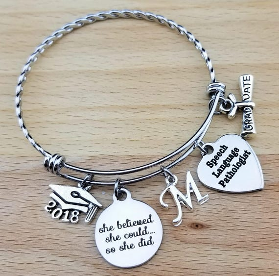 Speech Language Pathologist Speech Language Pathologist Gift Graduation Gift College Graduation Graduation Gift for Her Senior 2018