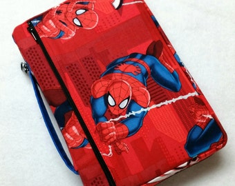 Bible Cover Super Heroes Your Book Measurements Required