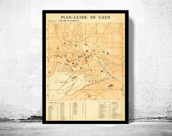 Antique french map Etsy