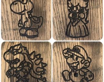 Set of 4 Nintendo Coasters
