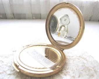 Vintage Compact Stratton Compact Powder Compact Mirrored Compact Rare Stratton Compact from AllieEtCie