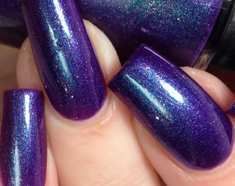 Love Story - Purple Valentines Day Indie Nail Polish