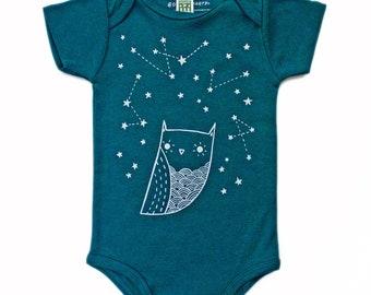 Organic Baby Clothing, Constellation Baby Clothing, Organic Baby Clothes Baby Outfit Baby One Piece Baby Gift constellation baby shower gift