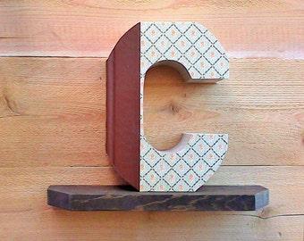 Letter books etsy ready made letter letter books spiritdancerdesigns Gallery