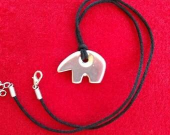 Sterling Silver Bear Spirit Animal Pendant