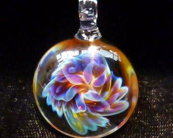 Glass Flower Psychedelicacy #3, wearable art