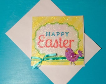 Happy Easter card and enevelope