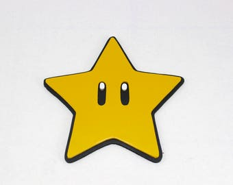 Wooden Mario Star