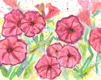 Watercolor Note Cards Box of 10