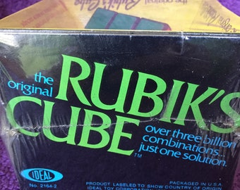 Vintage 1980's Toy the Rubik's Cube