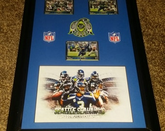 Seattle Seahawks The 12th Man 11x17
