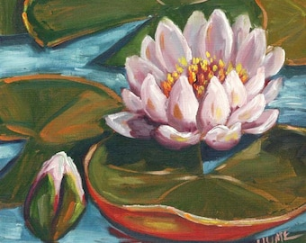 Water Lily II (New Orleans, Louisiana Nature Art)