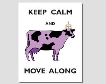 Purple Cow Art