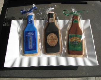 Beer/Liquor/Soda  Bottle Cookie