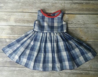 Schoolhouse Gingham Dress