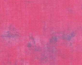 Grunge Basic in Berry- by Basic Grey for Moda -- 1/2  Yard