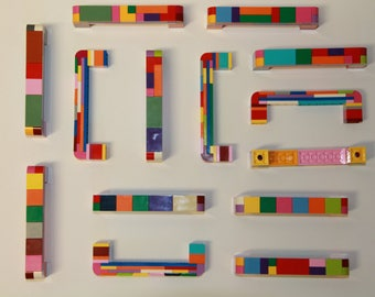 Lego brick furniture handle/handle/knob/LEGO/door handle/Handle/MOC