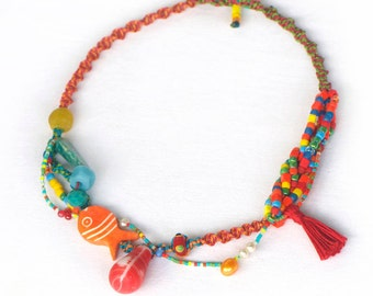 TASSEL necklace CARNIVAL