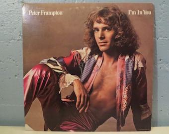 VINYL RECORD, Vintage, Peter Frampton, I'm in you / Vinyl album music vintage, Vinyl record collectible, Collectible vinyl record