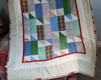 Traditional Patchwork Lap/Baby Quilt