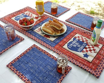 Star Spangled Table Set