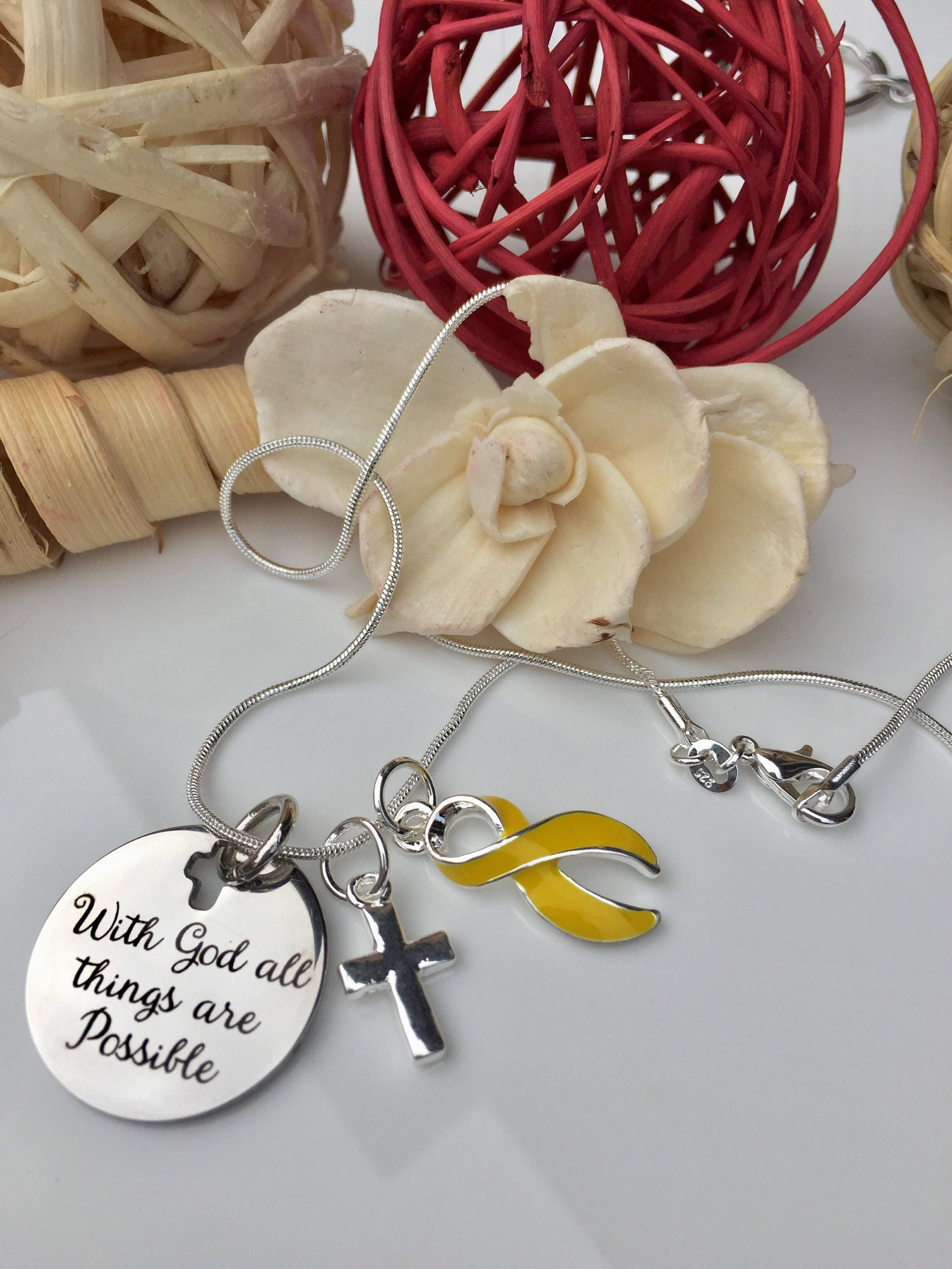 believed bracelet pin bone ribbon bladder osteosarcoma adenosarcoma she liver charm bifida cancer yellow spina