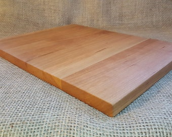 Cutting board, Cherry, Serving Tray, Trivet, Charcuterie Board, Natural