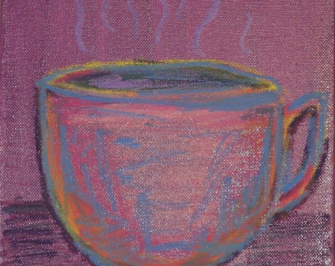 Java Jive - Original Painting 8 x 8