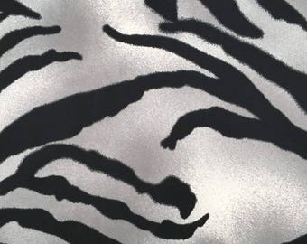 Zebra Spray-Paint Fabric - 58 Inches Wide