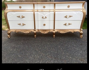 SOLD-French Provincial Dresser
