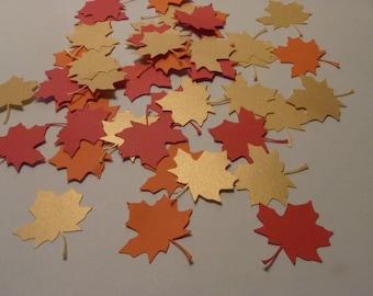 Fall Leaves Confetti (120 Count)