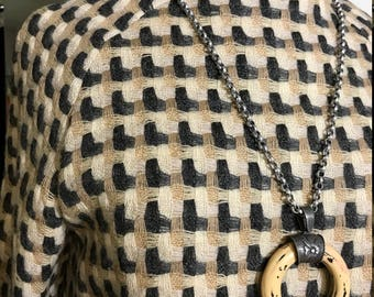 Vintage 1960s Woven Wool Coatdress