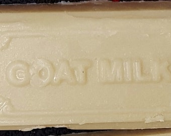 Creamy Goat Milk Soap Bars Oh So Lovely Cold Process - Homemade Soap - Milk Soap - Mild Soap - Creamy Soap - Unscented Soap - Natural Soap