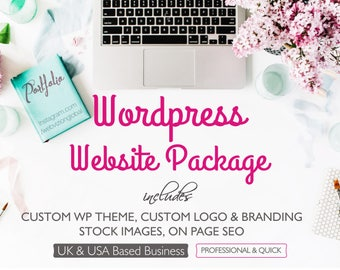 Sale Website Design, Logo Design, Wordpress Website, On Page SEO, Branding, Stock Images for Website, Training on Website